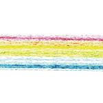 虹色のざらざらした毛筆、イラレ・アートブラシ